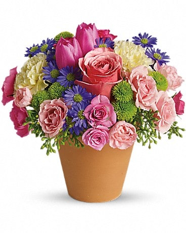 Spring Sonata (T147-1A) Flower Arrangement