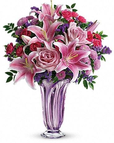 Teleflora's Lavender Grace Bouquet