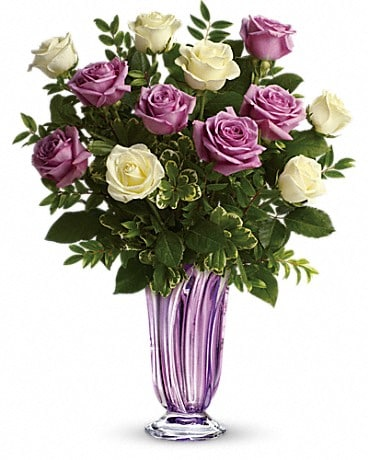 Teleflora's Wrapped In Lavender Bouquet Bouquet