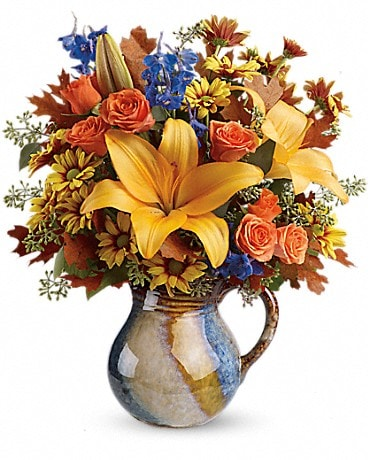 Teleflora's Harvest Fields Bouquet Bouquet