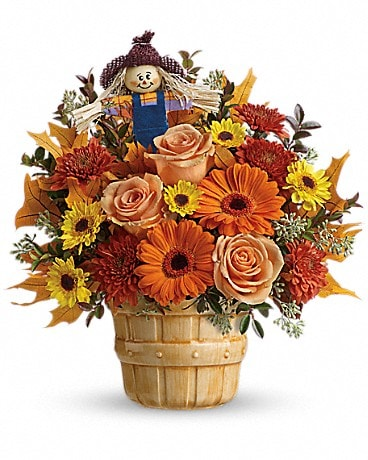 Teleflora's Harvest Cheer Bouquet Bouquet