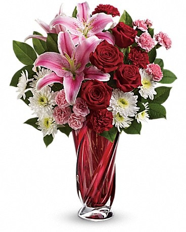 Teleflora's Swirling Beauty Bouquet Bouquet