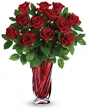 Teleflora's Red Radiance Bouquet Bouquet