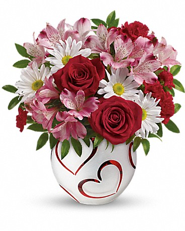 Teleflora's Happy Hearts Bouquet Bouquet