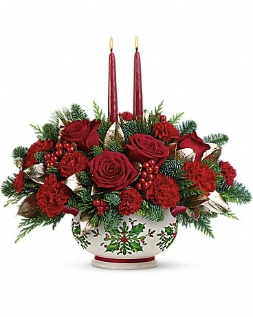 Teleflora's Gifts Of The Season Centerpiece Bouquet