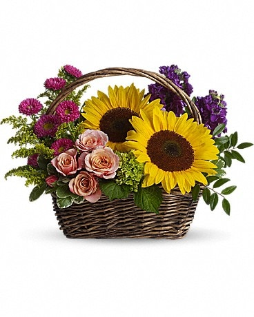 Picnic in the Park Basket Arrangement