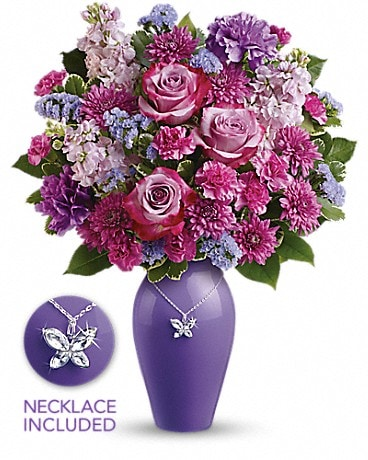 Teleflora's Roses And Butterflies Bouquet  Bouquet