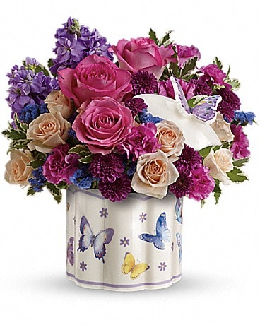 Teleflora's Dancing In Joy Bouquet Bouquet
