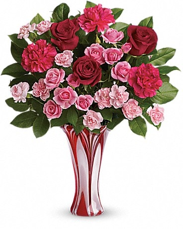 Teleflora's Swirls Of Love Bouquet Bouquet