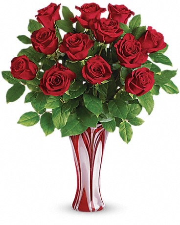 Roses delivery spring house pa the flower shop i adore you bouquet by teleflora mightylinksfo