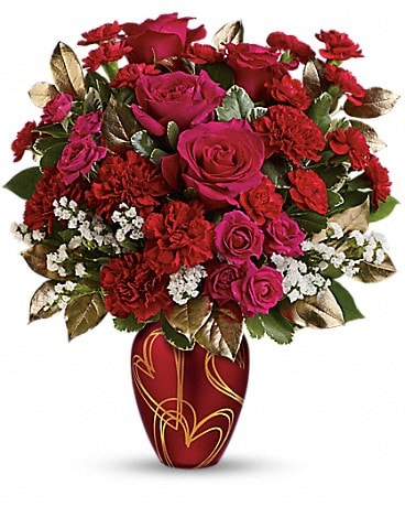 Teleflora S You Re In My Heart Bouquet By Sherwood