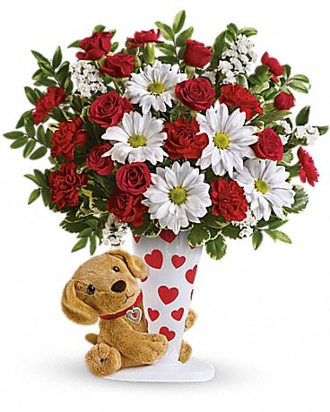 Send a Hug® I Ruff You by Teleflora Bouquet