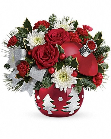 Teleflora's Sparkling Winter Wonderland Flower Arrangement
