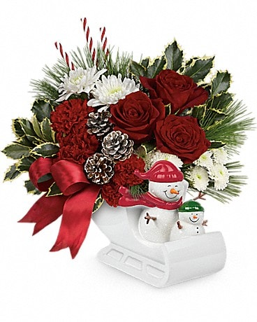 Send a Hug® Snow Much Fun by Teleflora Bouquet