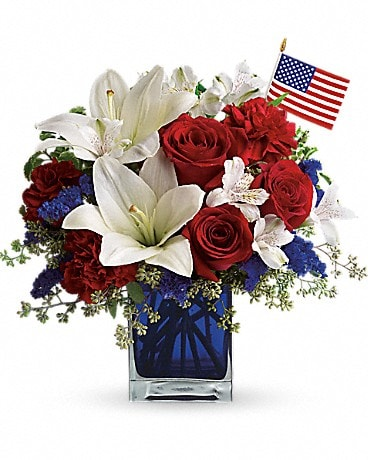 America the Beautiful by Teleflora (T163-2A) Bouquet
