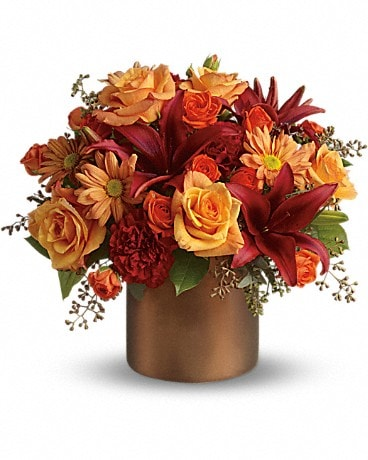Teleflora's Amazing Autumn Flower Arrangement