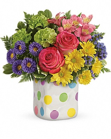 Happy Dots Bouquet Bouquet