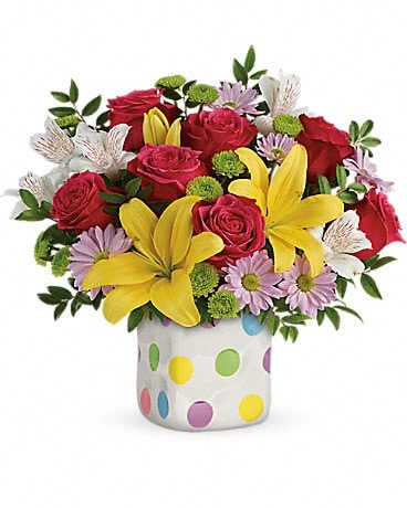 Delightful Dots Bouquet Bouquet