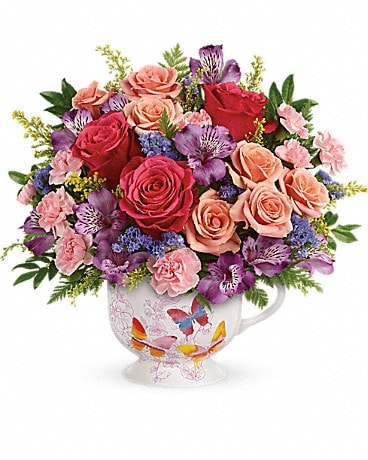 Teleflora's Wings Of Joy Bouquet Bouquet