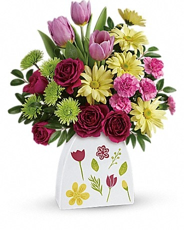 Teleflora's Make Their Daisies Bouquet Bouquet