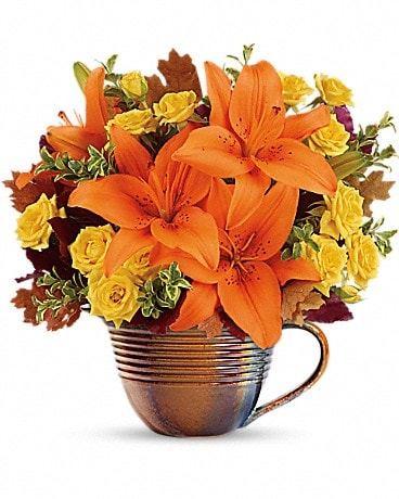 Teleflora's Fall Mystique Bouquet Bouquet