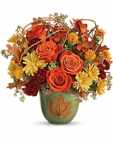 Teleflora's Turning Leaves Bouquet Bouquet