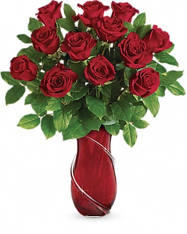 Teleflora's Wrapped In Roses Bouquet Bouquet