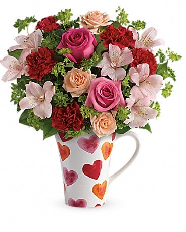 Teleflora's Hearts And Hugs Bouquet