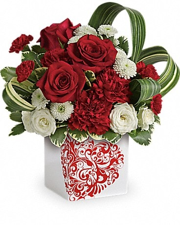 Teleflora's Cherished Love Bouquet Bouquet