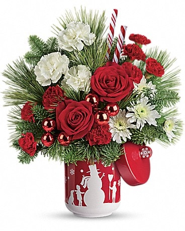 Teleflora's Snow Day Bouquet Bouquet