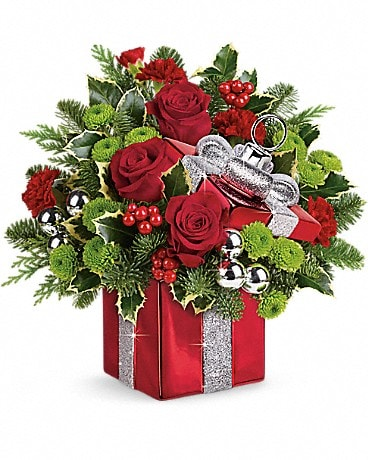 Teleflora's Gift Wrapped Bouquet Bouquet