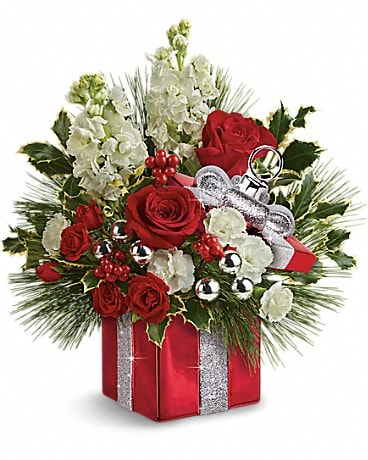Teleflora's Wrapped In Joy Bouquet