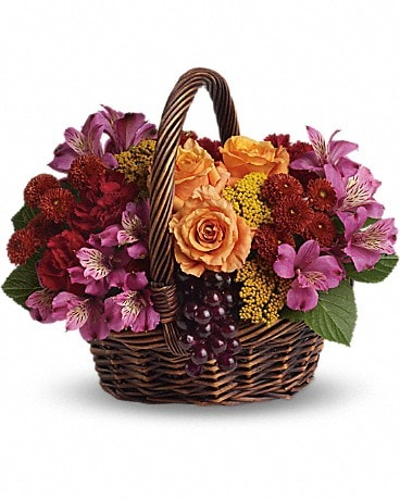 Sending Joy Basket Arrangement