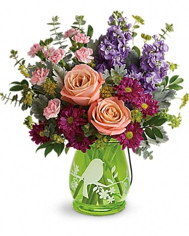 Humble florist flower delivery by treasures to adore telefloras soaring spring bouquet bouquet mightylinksfo