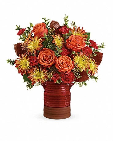 Harvest  Crock Bouquet