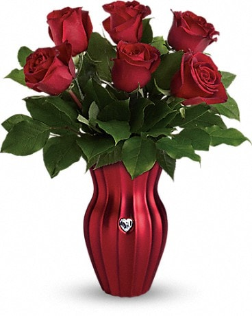 Teleflora's Heart Of A Rose Bouquet Bouquet