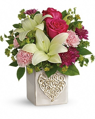 Teleflora's Love To Love You Bouquet