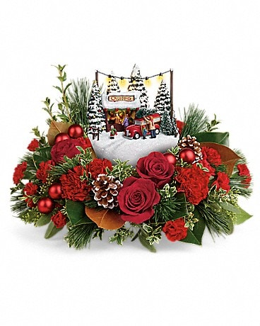 Thomas Kinkade's Festive Moments Bouquet
