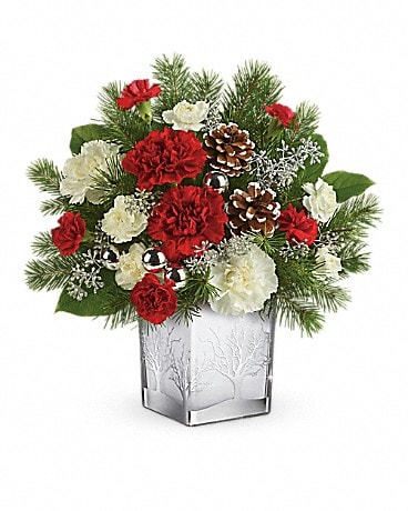 Teleflora's Woodland Winter Bouquet Bouquet