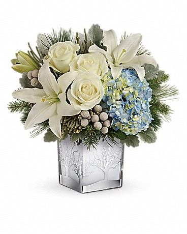 Silver Snow Bouquet Bouquet