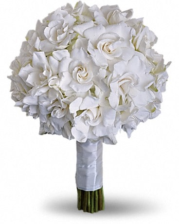 Gardenia and Grace Bouquet