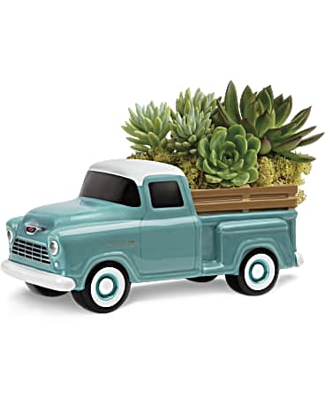 Perfect Chevy Pickup by Teleflora Plant