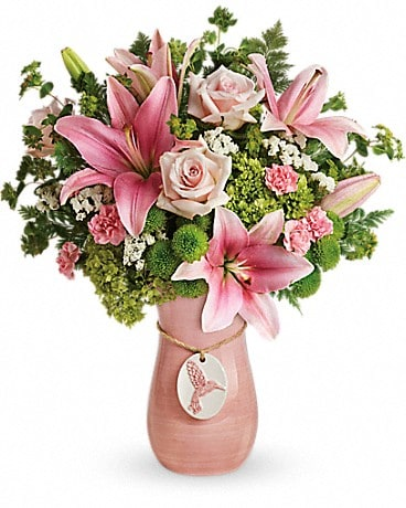 Teleflora's Elegance In Flight Bouquet