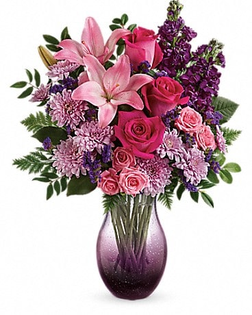 Garden of Purples & Pink Bouquet Bouquet