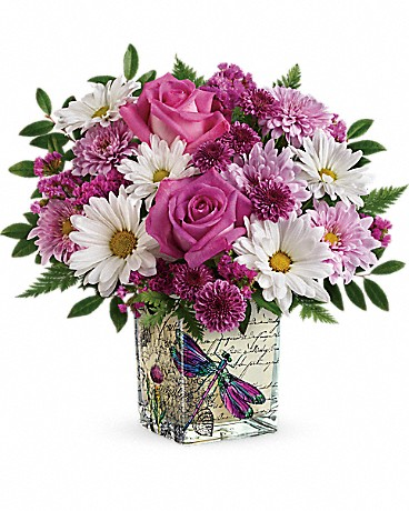 Teleflora's Wildflower In Flight Bouquet Bouquet