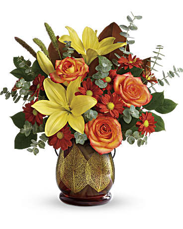 Fall Flowers - Teleflora's Citrus Harvest Bouquet