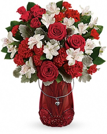 Red Haute Bouquet Bouquet