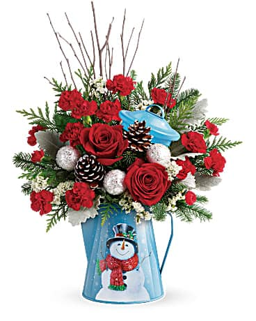 Teleflora's Snowy Daydreams Bouquet Bouquet