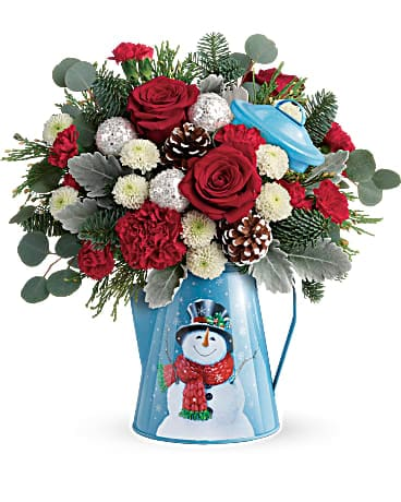Teleflora's Frosty Enchantment Bouquet Bouquet