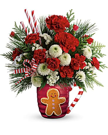 Send A Hug® Winter Sips Bouquet by Teleflora Bouquet